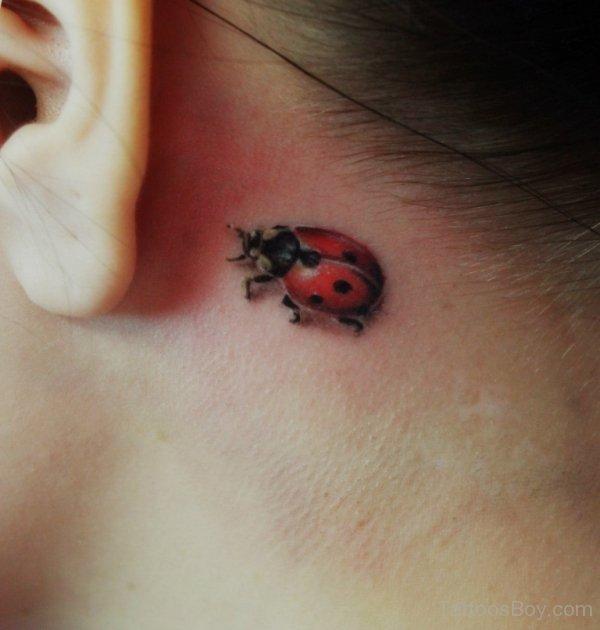 Tatuaje de Mariquita