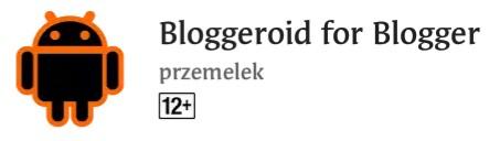 cara menggunakan aplikasi bloggeroid