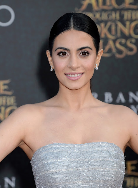 Actress, Model, @ Emeraude Toubia - Premiere Of Disney's Alice Through The Looking Glass in Hollywood
