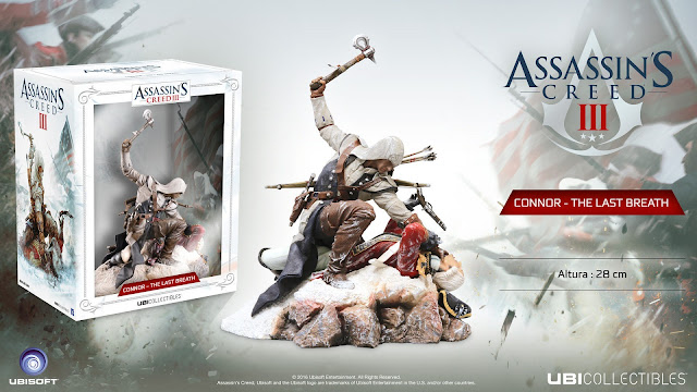 Presentada la figura Connor: The Last Breath (Assassin's Creed III)