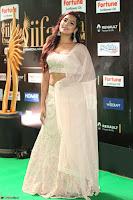 Prajna Actress in backless Cream Choli and transparent saree at IIFA Utsavam Awards 2017 0119.JPG