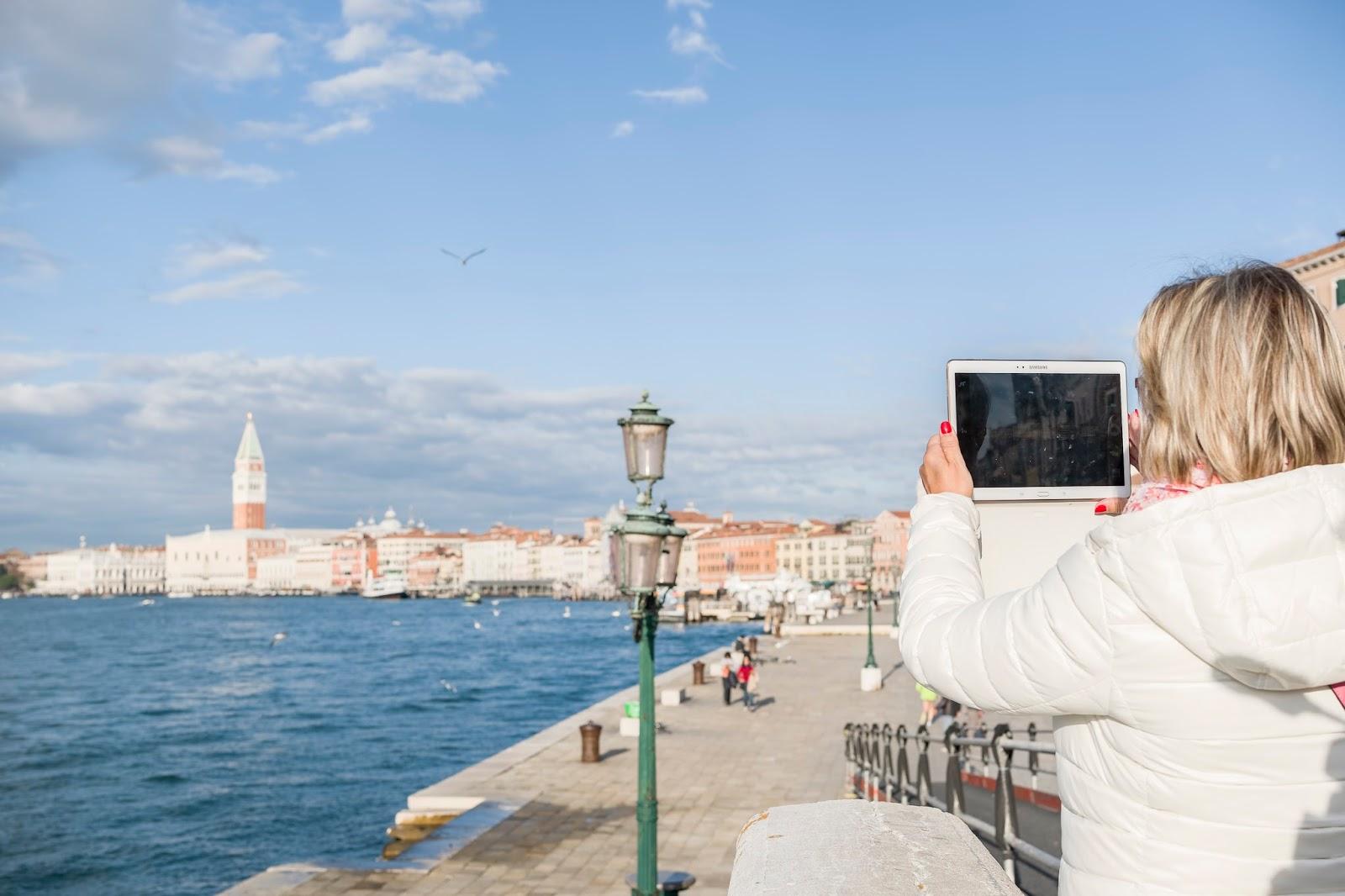 Venise touristes