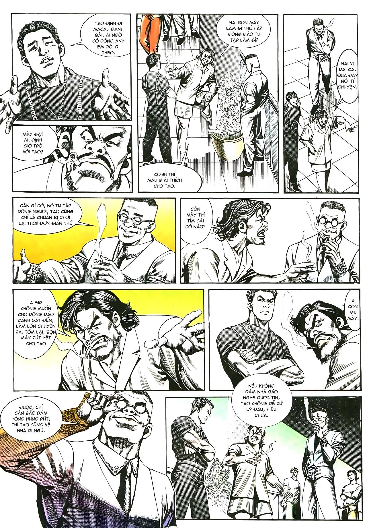 Người Trong Giang Hồ chapter 176: lật thua thành thắng trang 24