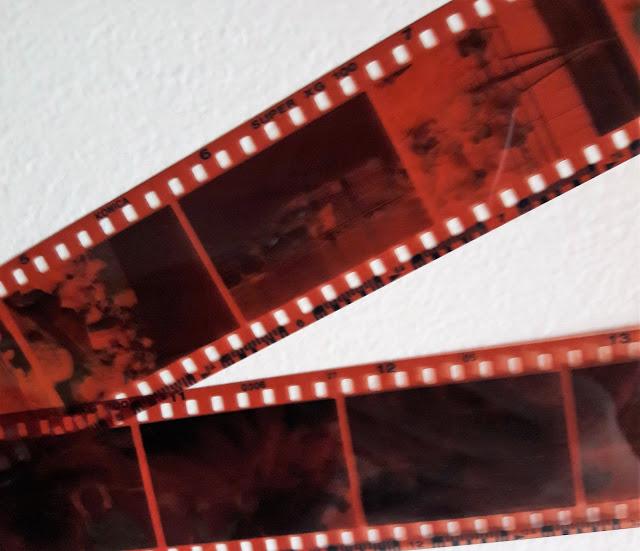 Pellicole di vecchi rullini per macchine fotografiche