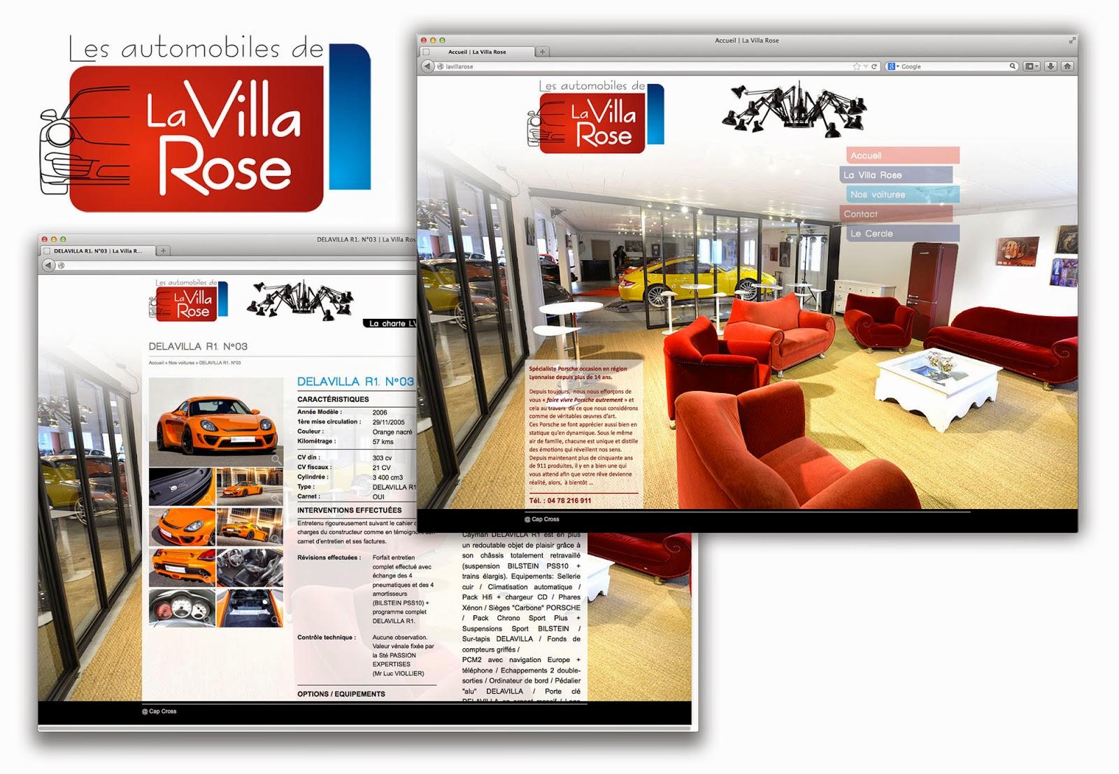 cap cross la villa rose sp cialiste porsche. Black Bedroom Furniture Sets. Home Design Ideas