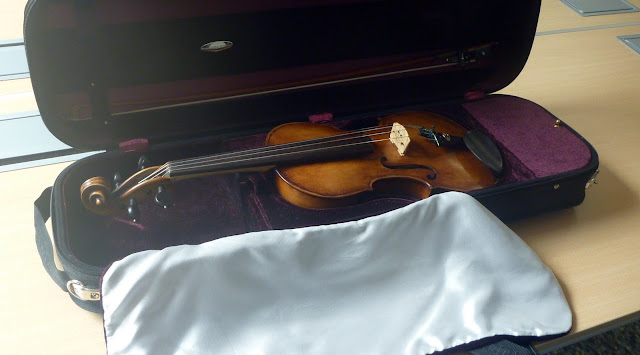 Steve Burnett's work: the Sherlock violin