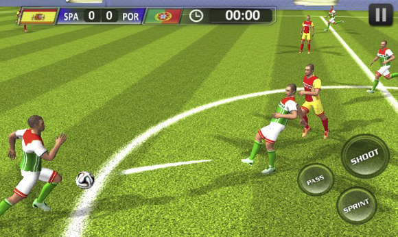 Real Football 2018 Apk Data for Android