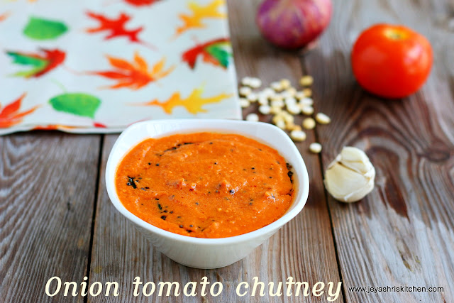 Onion-tomato chutney