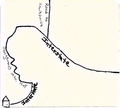 Goblin Valley Map