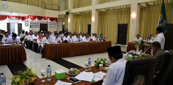 Suhatri Bur Minta Aparatur Jaga Suhu Politik di Pilwana Serentak