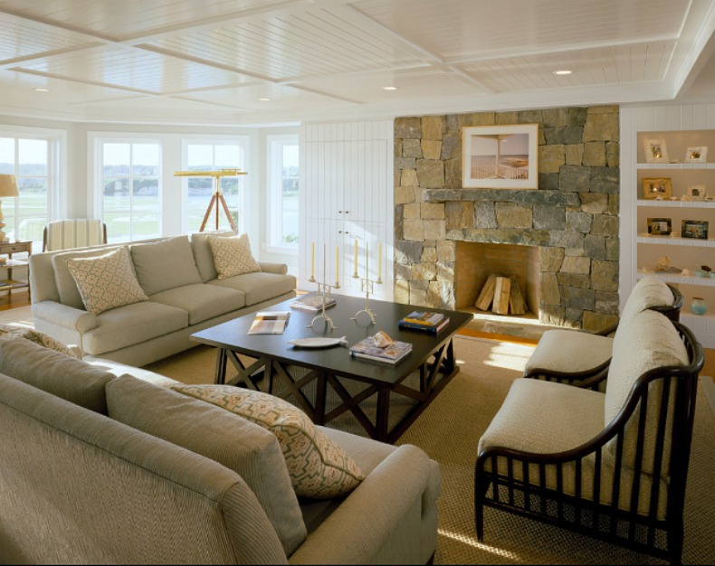 Spotted From The Crow's Nest: Beach House Tour- Cape Cod