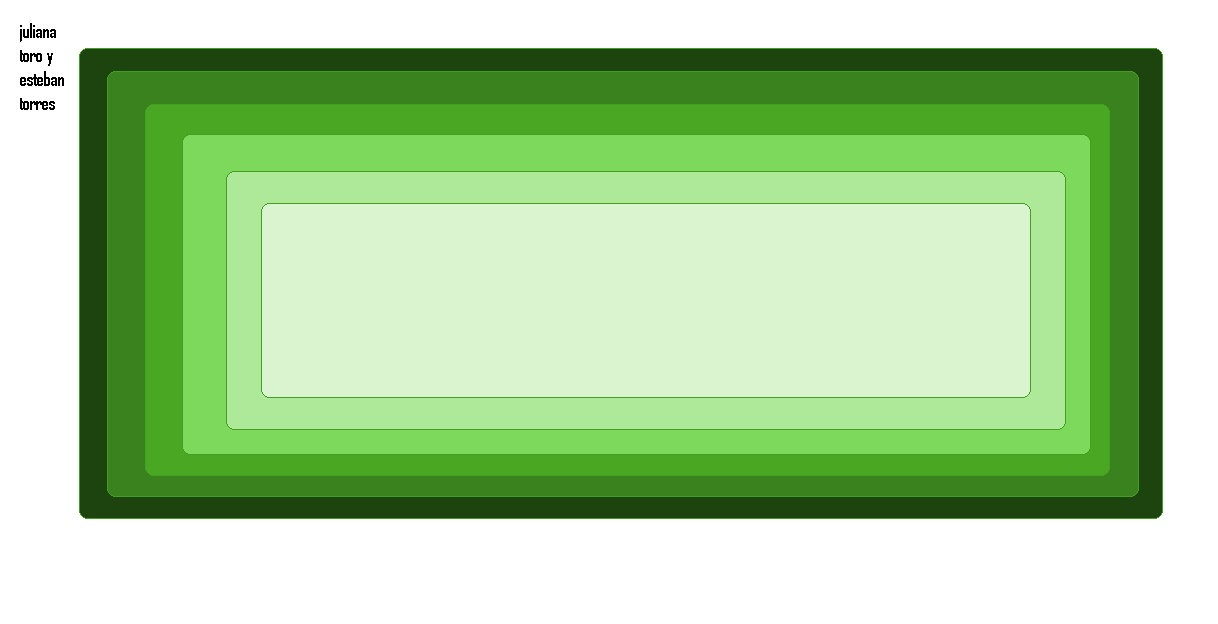 tecnologia de punta degradacion del color verde