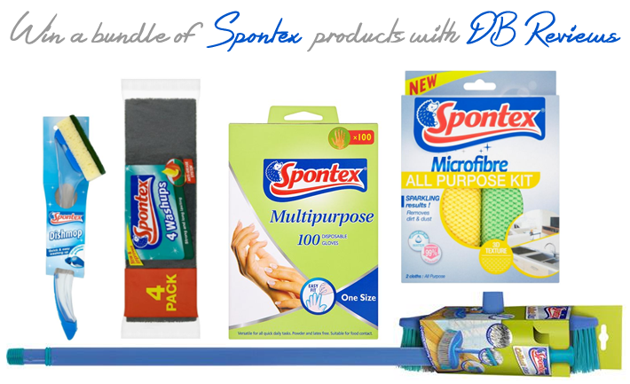Win a bundle of Spontex products