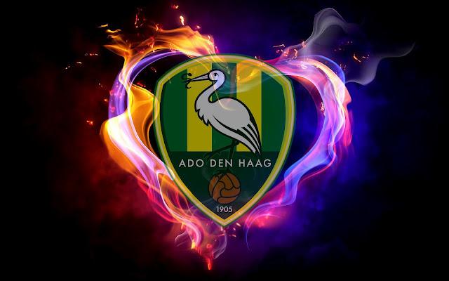 ADO Den Haag achtergrond met logo