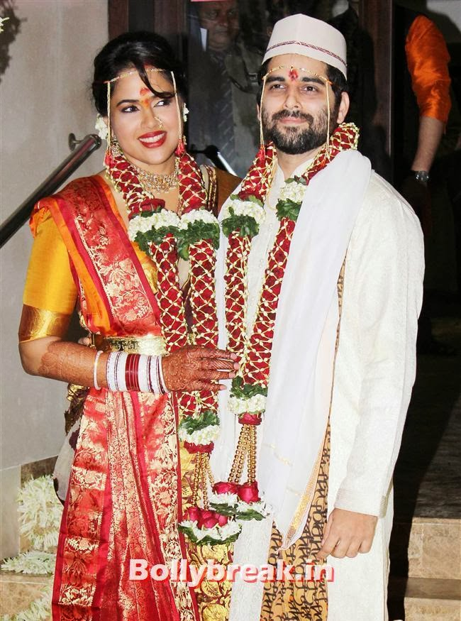 Sameera Reddy and Akshai Varde, Sameera Reddy Wedding Pics - Full Set