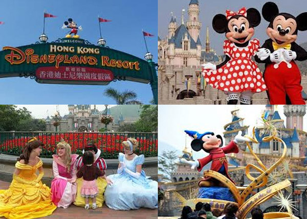 Hong Kong Disneyland vacation - saving up for a trip