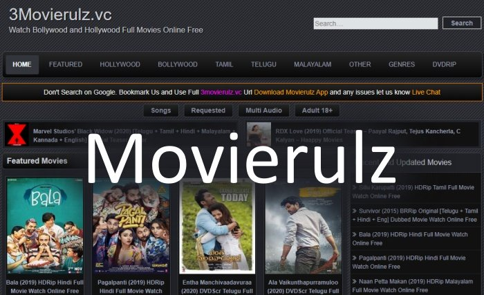 MovieRulz 2020 - Download Bollywood and Hollywood Movies
