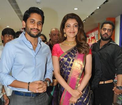 Naga-Chaitanya-Kajal-Aggarwal-At-Inauguration-Of-Chennai-Shopping-Mall-Photos-29