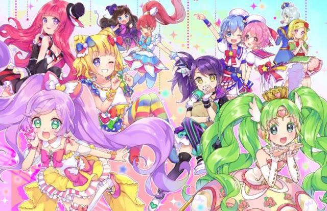 PriPara - Daftar Anime berkenaan Idol Terbaik