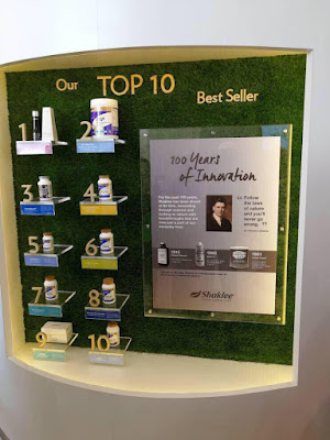 top 10 produk shaklee best seller