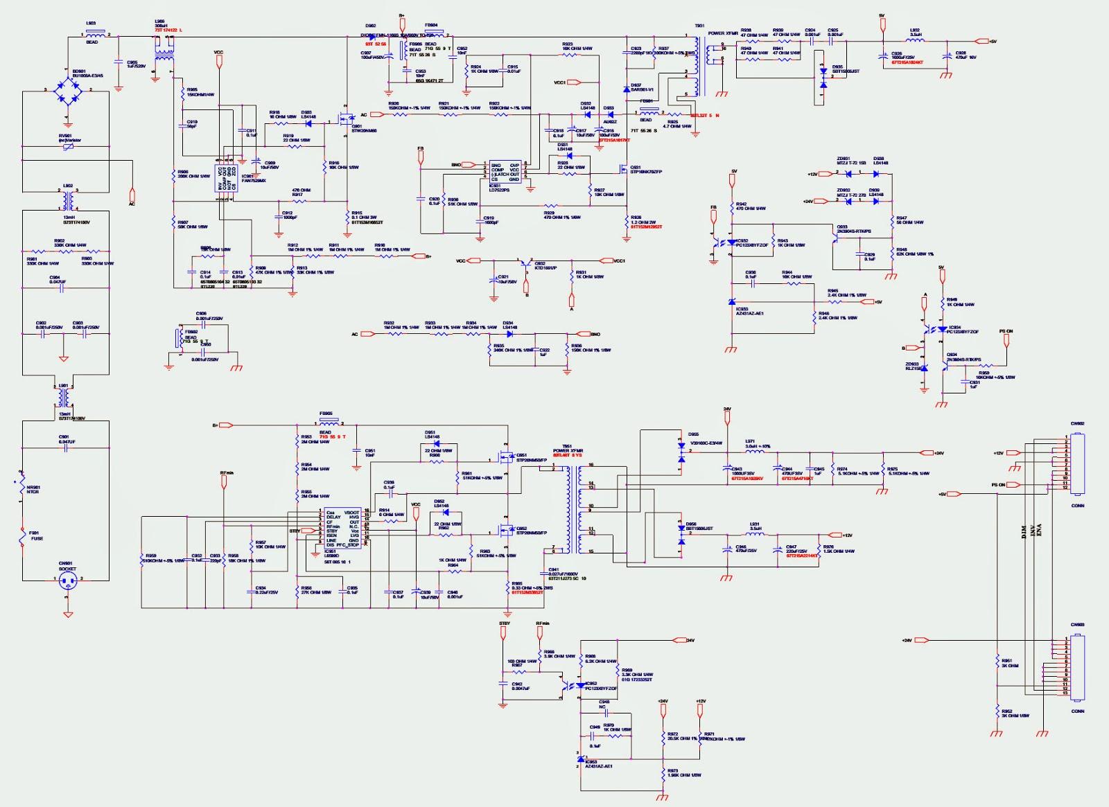Electro help: HAIER LT32M1CA - HAIER LT32M1C_AOCL32W ...