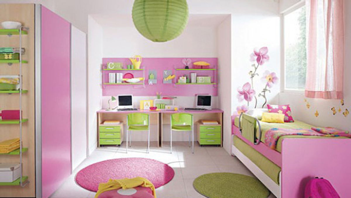 best girls rooms interior design ideas - home design ideas