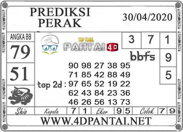 PREDIKSI TOGEL PERAK PANTAI4D 30 APRIL 2020