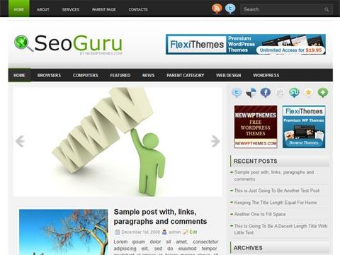 SeoGuru Free WordPress Theme