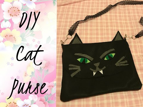 DIY Cat Purse
