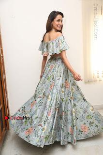 Actress Pragya Jaiswal Stills in Floral Dress at turodu Interview  0205.JPG