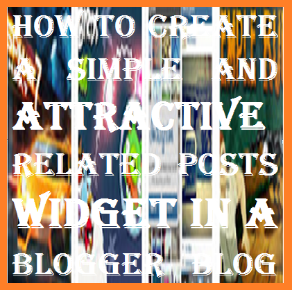 Blogger Related Posts widget