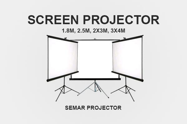 Sewa screen proyektor di Semarang