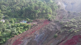 landslide in India