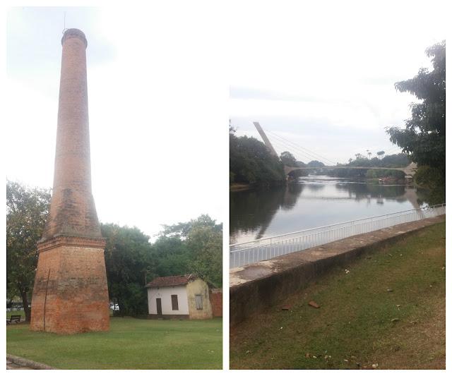 Rua do Porto e o Rio Piracicaba, Piracicaba-SP