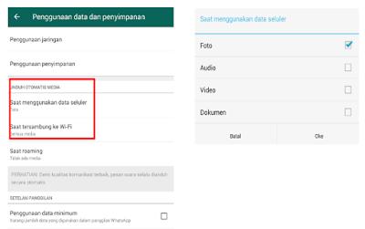 Cara Setting Agar Whatsapp Tidak Menyimpan Gambar Secara Otomatis √  Cara Setting Whatsapp Agar Tidak Menyimpan Gambar Atau Foto Secara Otomatis