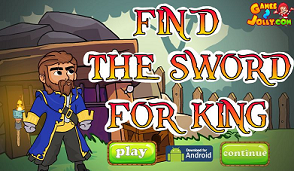 Games2Jolly - Find the Sword for King