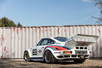 1976 Porsche 934 5 Racing Car Rear Left