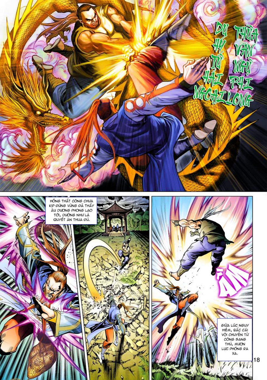 Anh Hùng Xạ Điêu anh hùng xạ đêu chap 45 trang 18