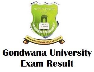 Gondwana University Gadchiroli Result 2018