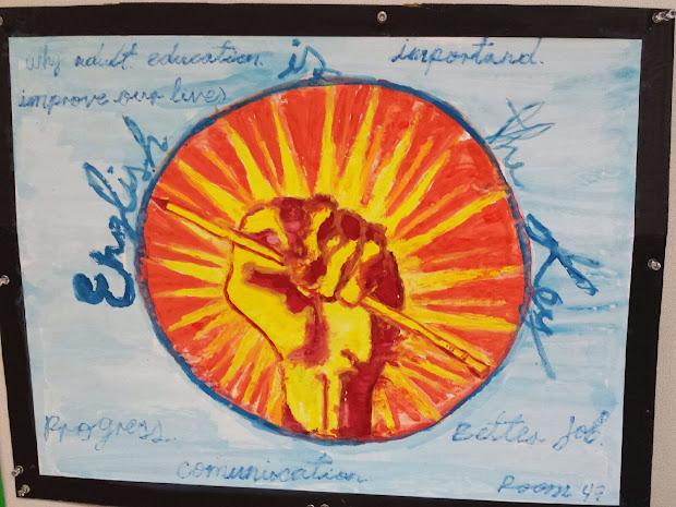 San Mateo Adult School 2014 Education Week Poster