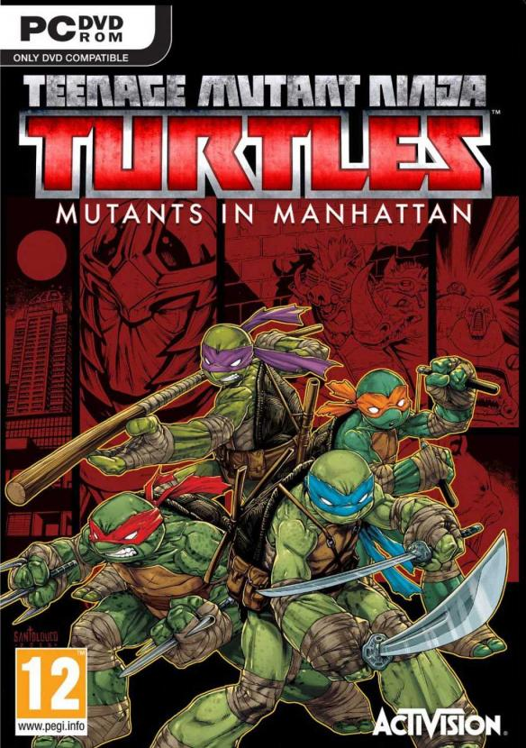 Teenage Mutant Ninja Turtles Mutants In Manhattan ESPAÑOL PC Full