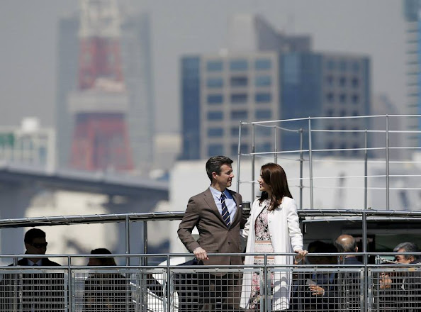 Princess Mary and Prince Frederik visit Japan Day-2