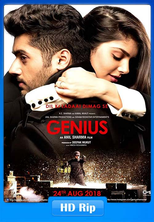 Genius 2018 Hindi 720p HDRip ESubs x264 | 480p 300MB | 100MB HEVC