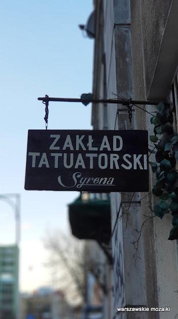 Warszawa Warsaw #szyld tabliczka napis retro