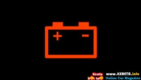 lampu amaran bateri jpj