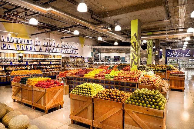 Supermercado Wholefood em Los Angeles