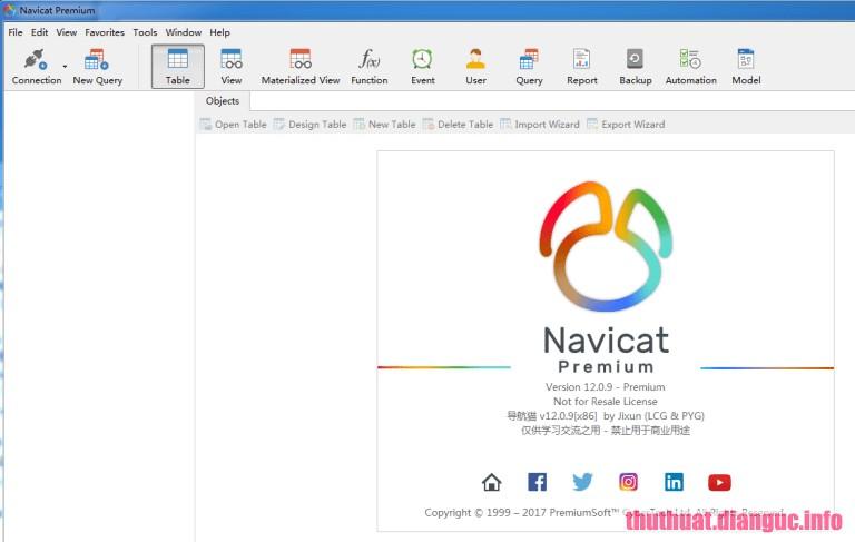 Download Navicat Premium 12.1.7 Full Cr@ck – Phần mềm quản lý cơ sở dữ liệu