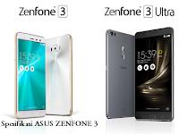 Spesifikasi Penuh Asus Zenfone 3