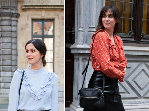 Wishlist: ruffled blouses
