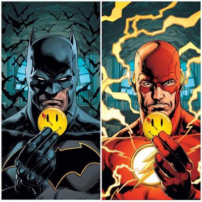 """DC Comics anuncia el crossover """"The Button"""" entre Batman y The Flash."""